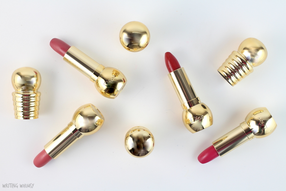 Dior Holiday 2015 Diorific Mat Velvet Colour Lipsticks Swatches & Review 4