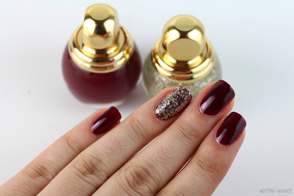 Dior State of Gold Holiday 2015 Diorific Vernis State of Gold 001 Swatch 2