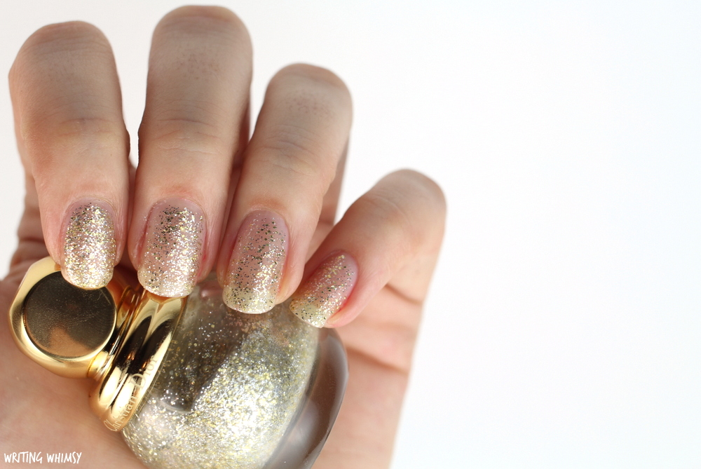 Dior State of Gold Holiday 2015 Diorific Vernis State of Gold 001 Swatch