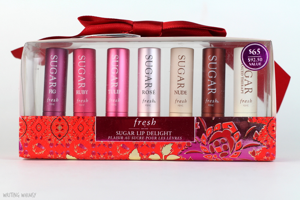 Fresh Holiday Gift Guide 2015 Fresh Sugar Lip Delight Swatches 3