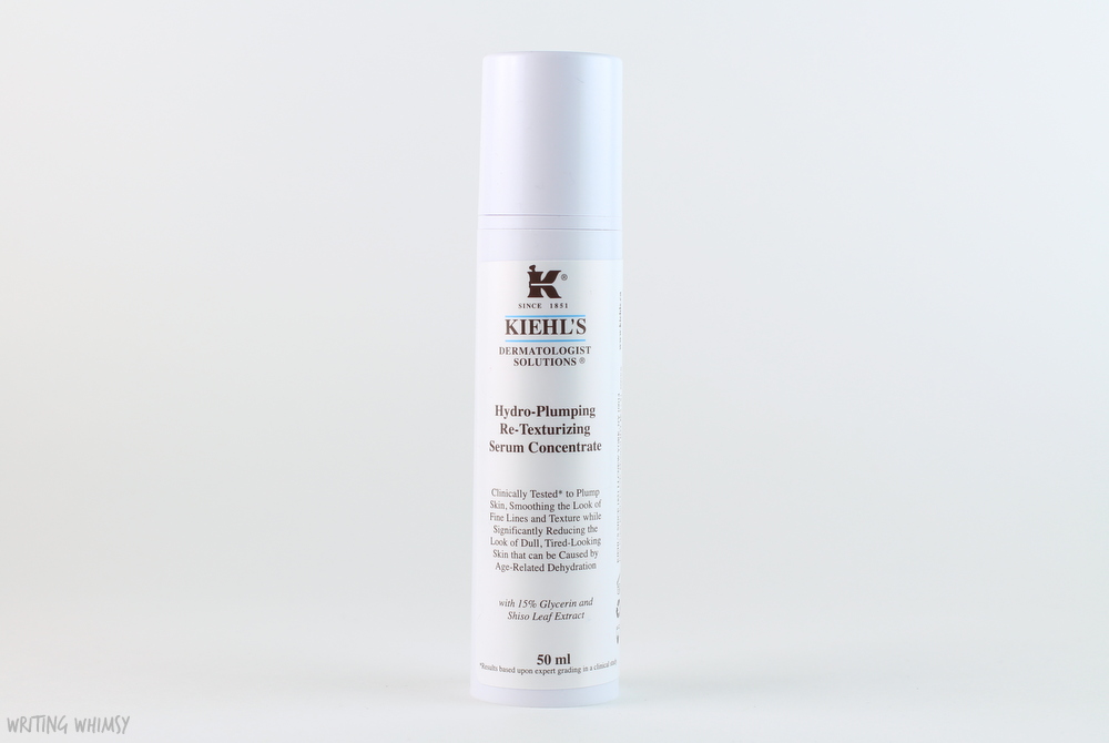 Kiehl's Hydro-Plumping Re-Texturizing Serum Concentrate 3