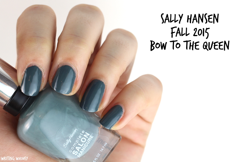 Sally Hansen Bow to the Queen Swatch Sally Hansen Complete Salon Manicure Fall 2015