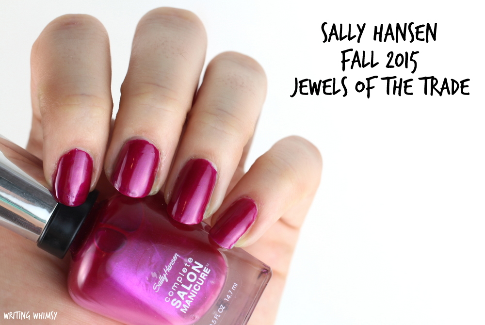 Sally Hansen Jewels of the Trade Swatch Sally Hansen Complete Salon Manicure Fall 2015