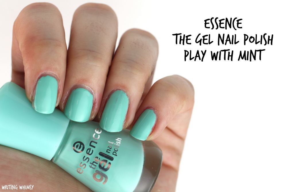 essence play with mint swatches