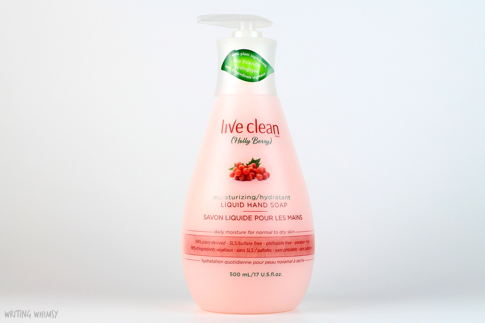 Live Clean Liquid Hand Soap in Holly Berry