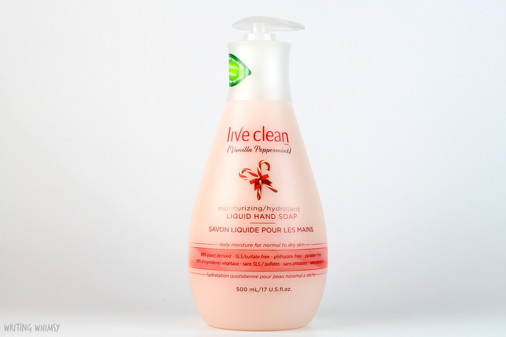 Live Clean Liquid Hand Soap in Vanilla Peppermint