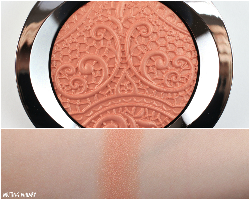 Mary Kay Sheer Dimensions Powder in Lace Coral Swatches