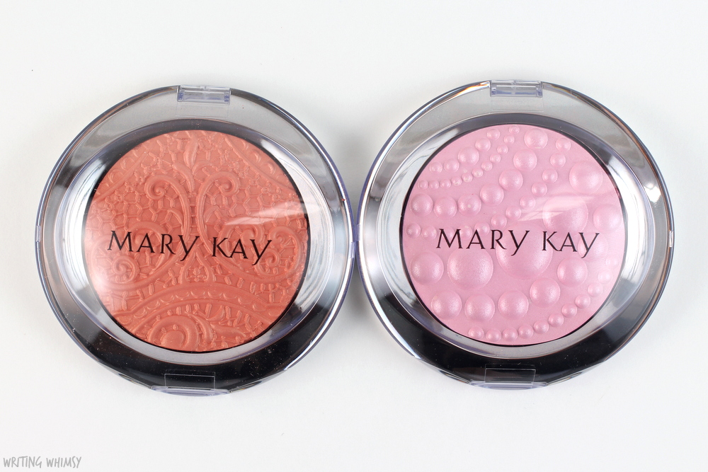 Mary Kay Sheer Dimensions Powder in Lace & Pearls Swatches + Review 2
