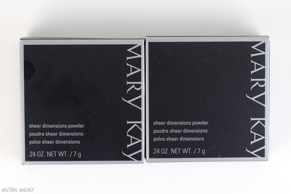 Mary Kay Sheer Dimensions Powder in Lace & Pearls Swatches + Review 4