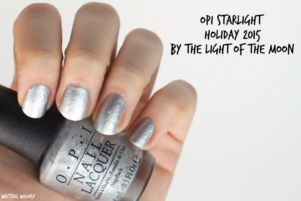 OPI Starlight Holiday 2015 OPI By the Light of the Moon Swatch