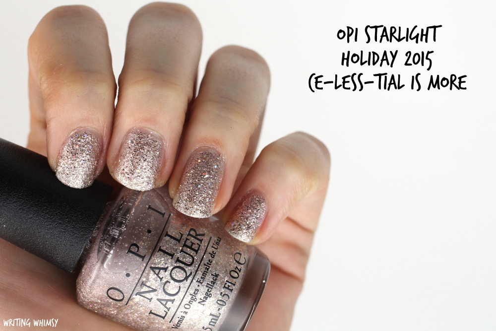 OPI Starlight Holiday 2015 OPI Ce-Less-Tial Is More Swatch