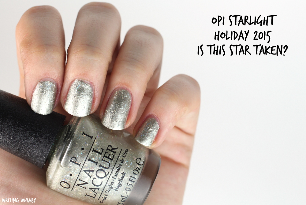 OPI Starlight Holiday 2015 OPI Is This Star Taken? Swatch