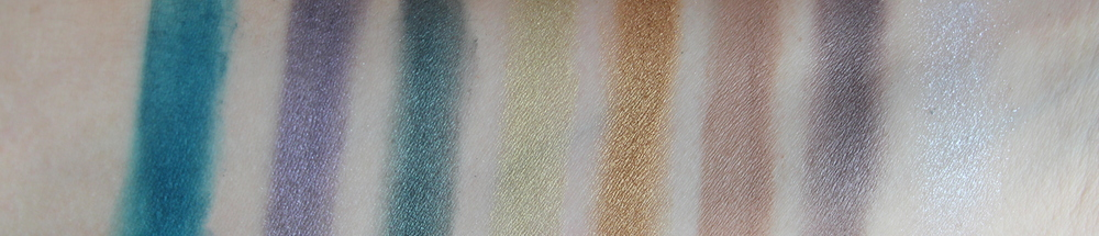 Sephora Ombre Obsession Eye Shadow Palette Swatches