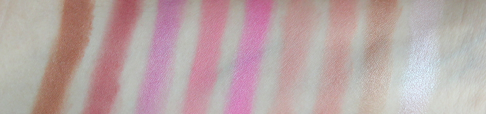 Sephora Ombre Obsession Face Palette Swatches