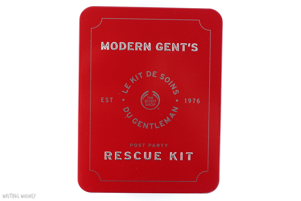 The Body Shop Modern Gent's Post Party Rescue Kit