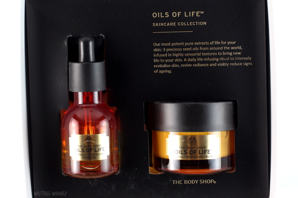 The Body Shop Oils of Life Skin Care Collection Gift Set 2