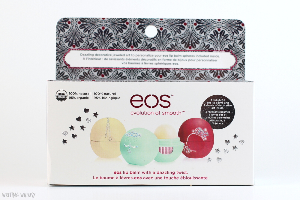 eos Holiday 2015 Limited Edition Decorative Lip Balm Collection