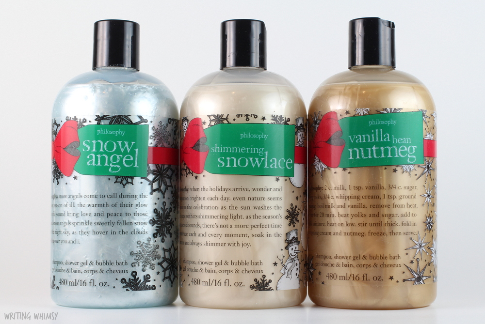 philosophy Shimmering Snowlace Shampoo, Shower Gel & Bubble Bath