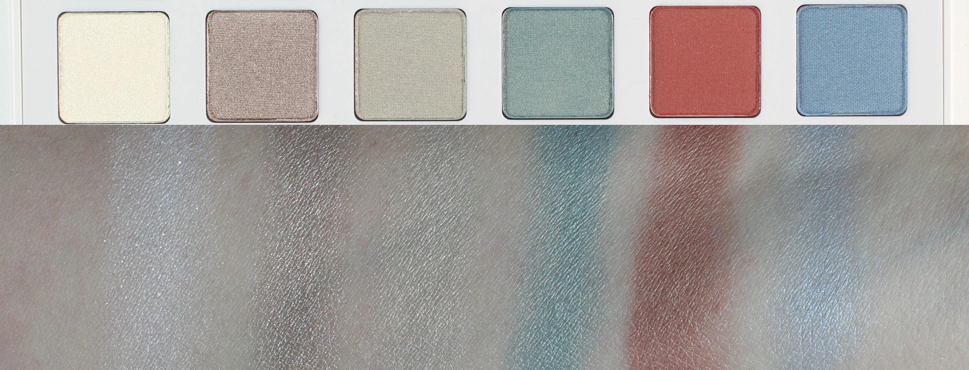 3-Sephora + Pantone Color of the Year 2016 Modern Watercolors Eye Palette Swatches 2