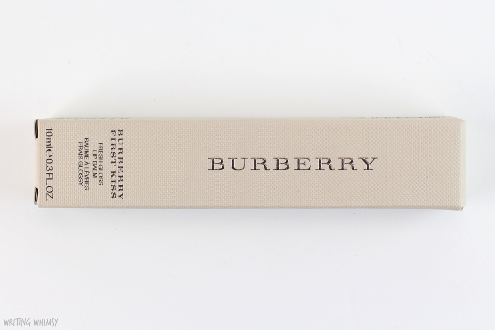 Burberry First Kiss Glossy Lip Balm in Soft Plum 5