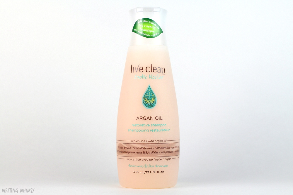 Live Clean Argan Oil Restorative Shampoo and Conditioner Review 2