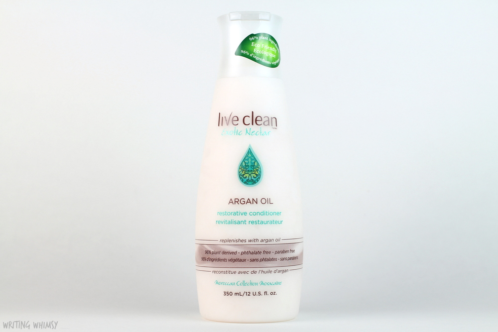 Live Clean Argan Oil Restorative Shampoo and Conditioner Review 4