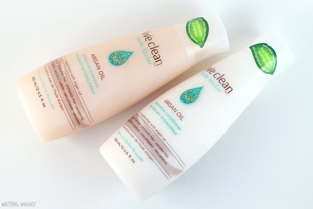 Live Clean Argan Oil Restorative Shampoo and Conditioner Review