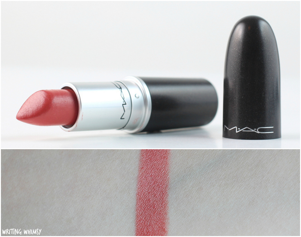 MAC See Sheer Lipstick Swatches + Review 3
