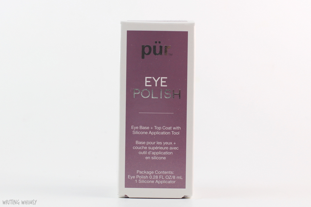 Pur Minerals Eye Polish in Velvet Swatches and Review 6