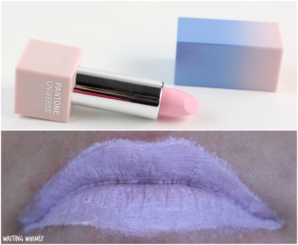 Sephora + Pantone Color of the Year 2016 Matte Lipstick in Rose Quartz Swatch and Review