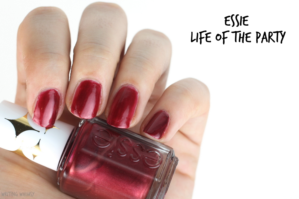 essie retro revival collection essie life of the party swatch