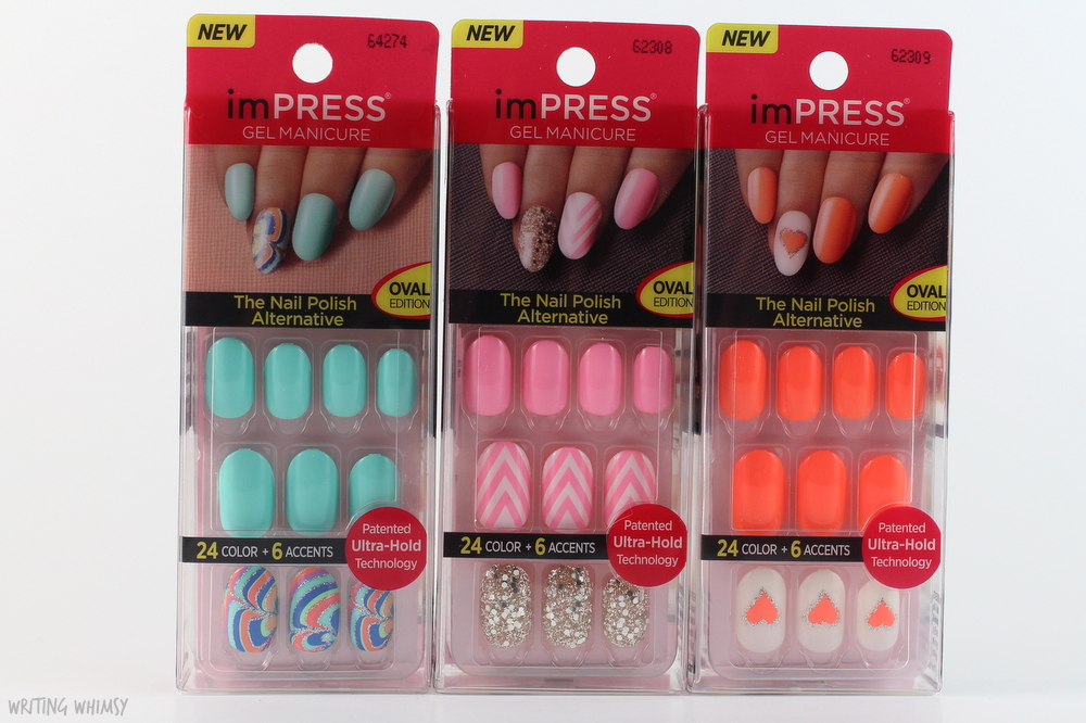 Impress press on nails oval best nails 2018 impress short nails best 2018 prinsesfo Image collections