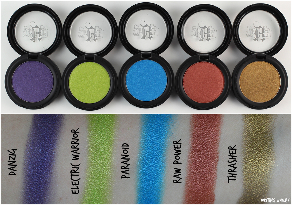1-Kat Von D Metal Crush Eyeshadows Swatches All-001