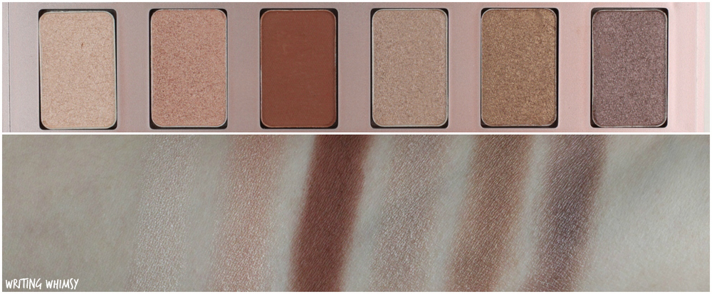 1-Lise Watier Spring 2016 Variations De Nudes Collection Lise Watier Simply Nudes 12-Colour Eyeshadow Palette Swatches 2