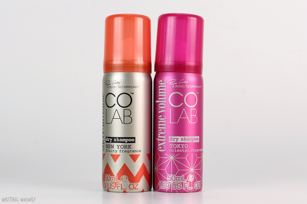 COLAB Dry Shampoo in Tokyo and New York scents