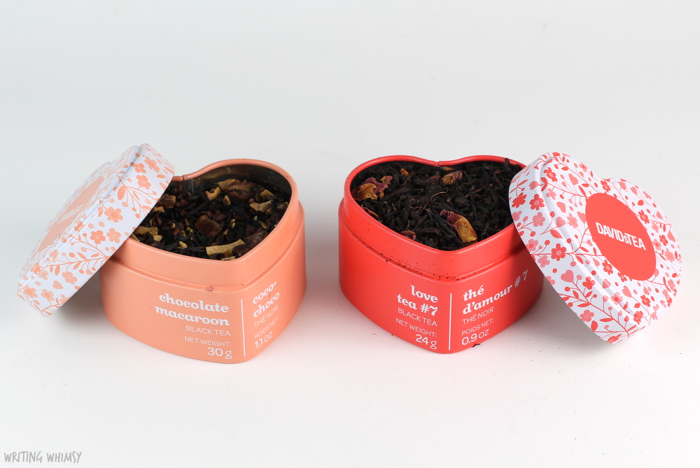 DAVIDsTEA Valentine's Day Gifts Love Tea #7 Heart-Shaped Tin