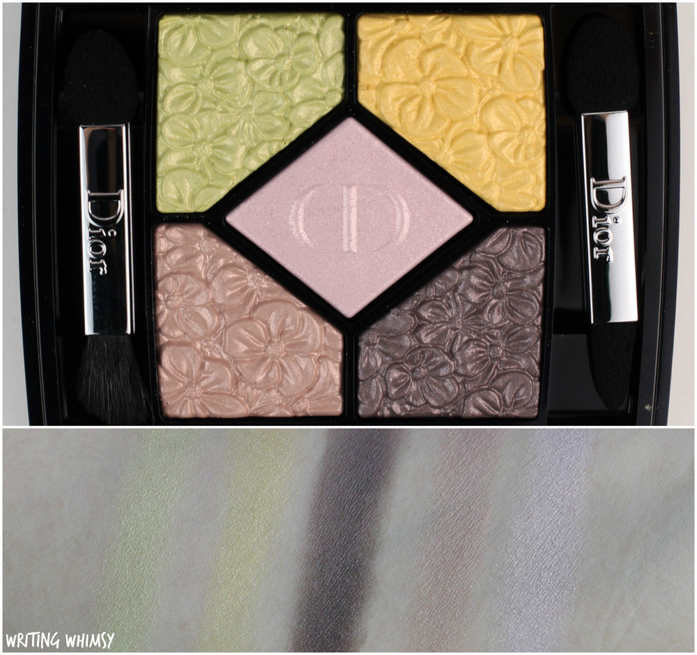 Dior 5 Couleurs Glowing Gardens Eyeshadow Palette in Rose Garden (451) Swatches + Review