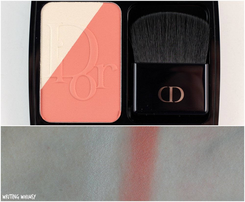 Dior Diorblush Sculpt in Coral Shape Swatches + Review 2