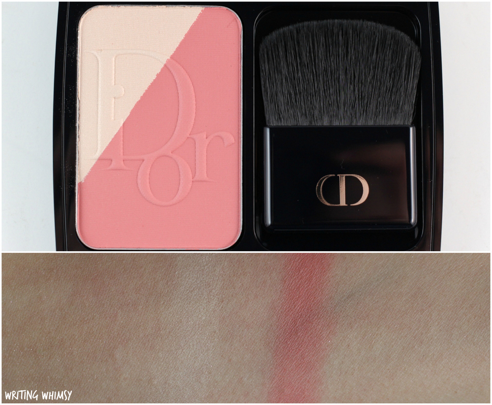 Dior Diorblush Sculpt in Pink Shape Swatches + Review 2