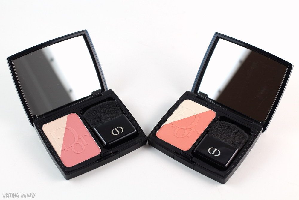 Dior Diorblush Sculpt in Pink Shape and Coral Shape Swatches + Review 2