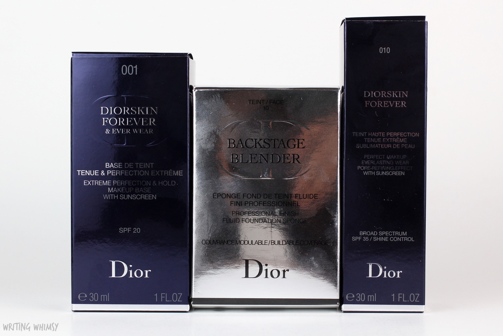 Dior Diorskin Forever Perfect Makeup Fluid Foundation in Ivory (010) 3