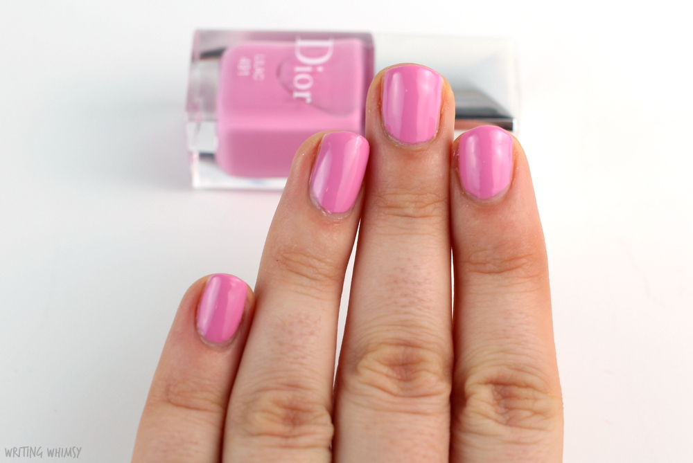 Dior Glowing Gardens Spring 2016 Dior Vernis in Lilac Swatch 2
