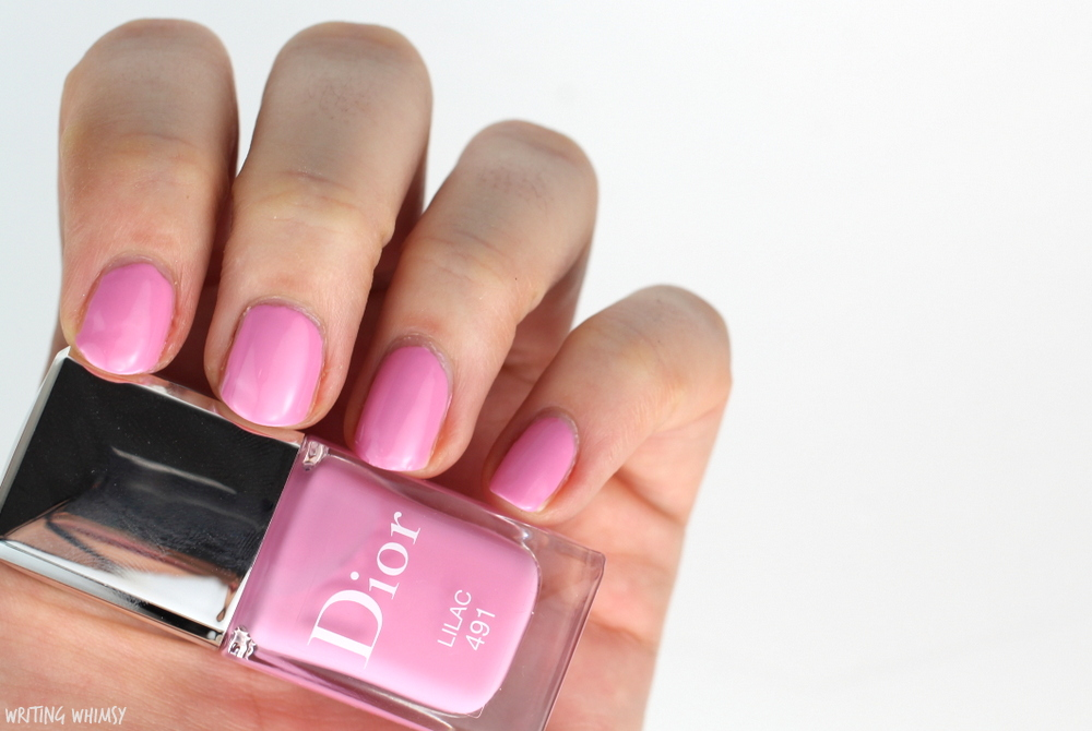 Dior Glowing Gardens Spring 2016 Dior Vernis in Lilac Swatch