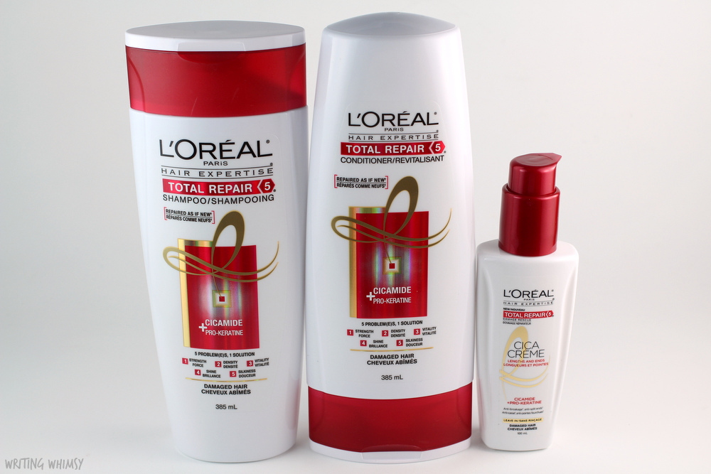 Influenster L'Oréal Total Repair 5 Shampoo, Conditioner and Leave-In 2