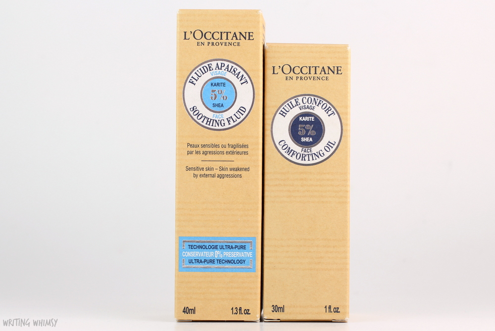 L'Occitane Soothing Fluid & Comforting Oil 3