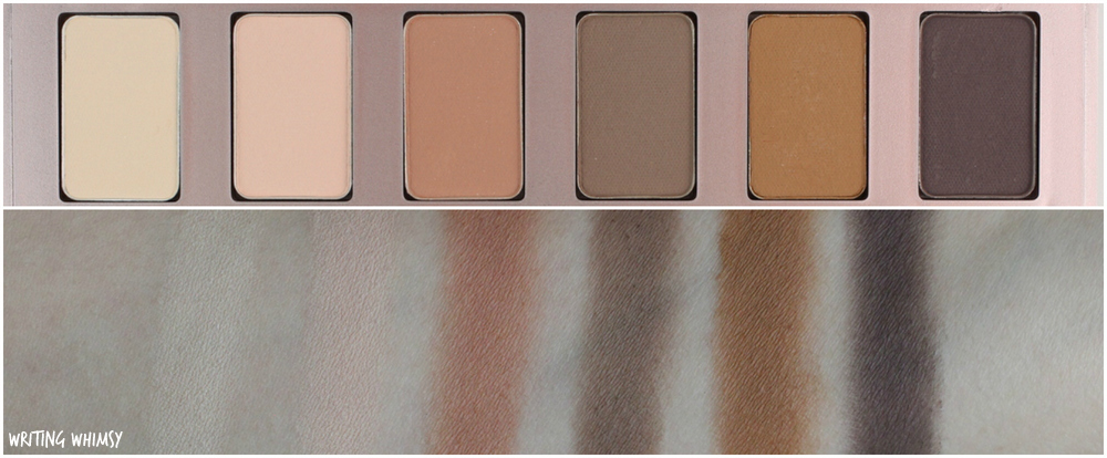 Lise Watier Spring 2016 Variations De Nudes Collection Lise Watier Simply Nudes 12-Colour Eyeshadow Palette Swatches