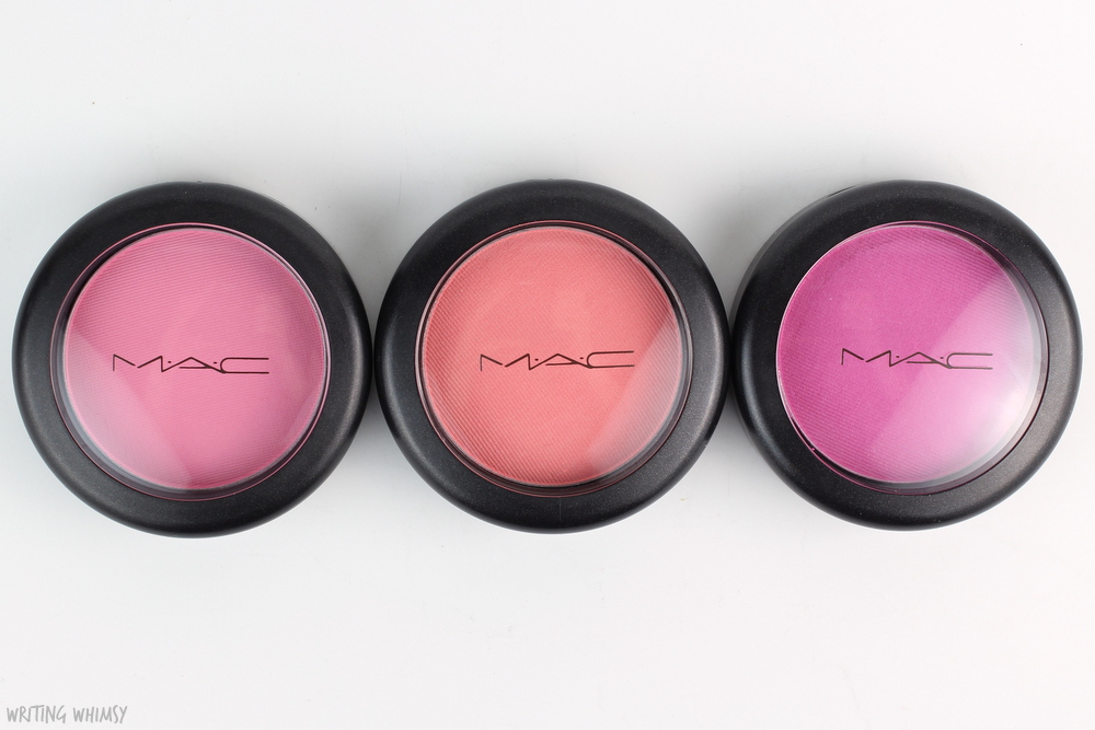 MAC Flamingo Park Blushes Swatch