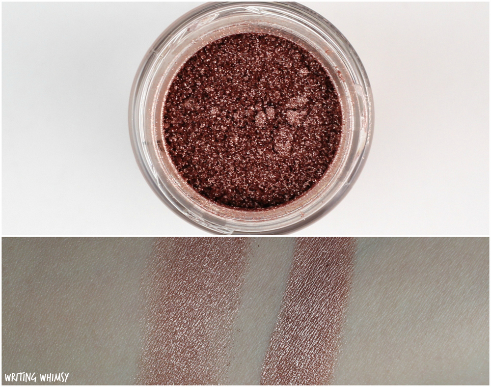 MAC Flamingo Park MAC Tan Pigment Swatch