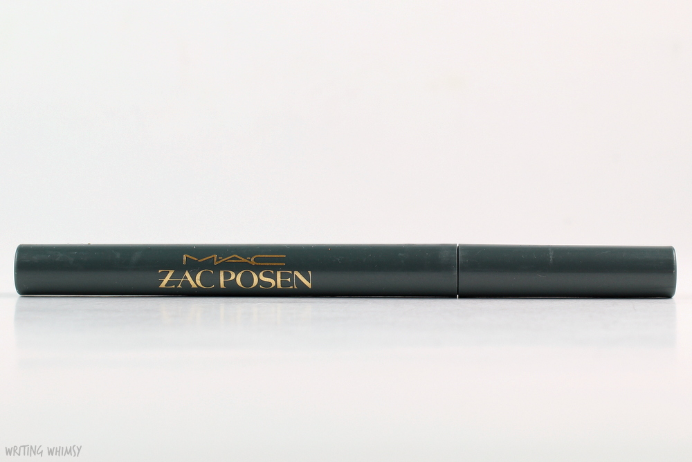 MAC Zac Posen Fluidline Pen in Retro Black Swatches and Review 2