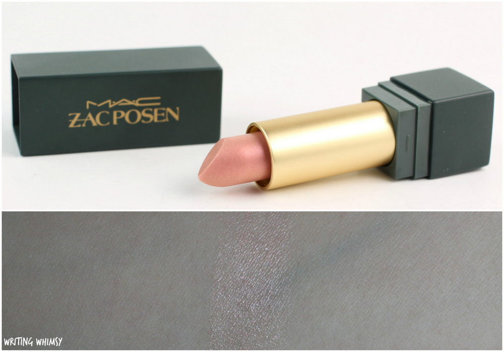 MAC Zac Posen Lipstick in Sheer Madness Swatches and Review